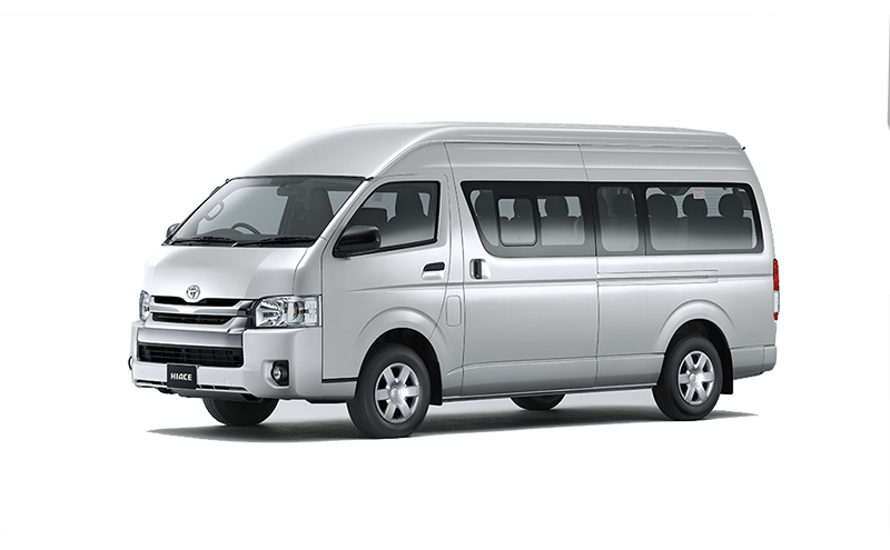 3.0L Bus High roof 15-Seats A/C